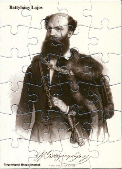 Battyhány Lajos miniszterelnök vértanú puzzle